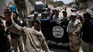 استعاد الجيش العراقي الموصل وحرره من سيطره تنظيم الدولة الاسلامية