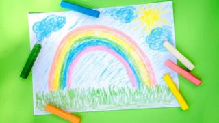 in_pictures Rainbow drawing