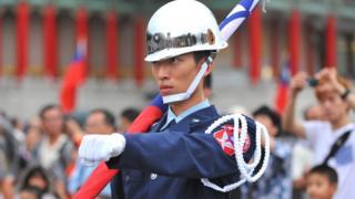 Soldado en Taiwan