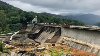 केरल में बाढ़ की समस्या