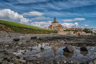 St Monans church taken when walking from Elie to Anstruther