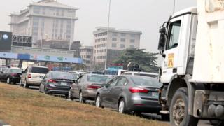 Toll gate for Lekki, Lagos