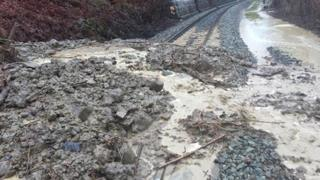 Network Rail said more than 150 tonnes of debris had been cleared