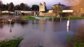Storm Desmond caused severe flooding across County Fermanagh