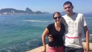Cassia Roth e Clayton Fagner Alves Dias