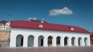 Фасад крепости