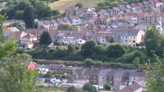 South Wales valleys housing