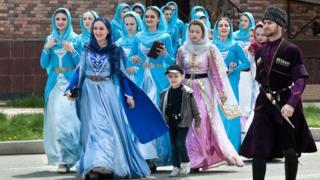 Чеченские женщины