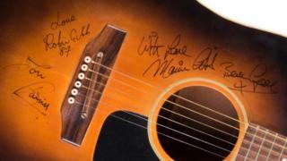 Maurice Gibb's guitar