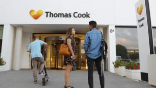 Thomas Cook office