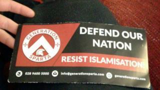 Anti-Islam leaflet