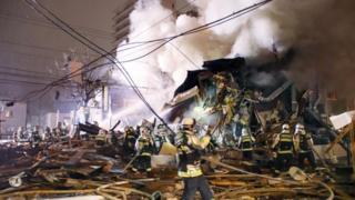 当局は、爆発によるけが人の数は増える可能性があるとしている