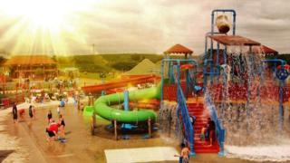 Twinlakes theme park