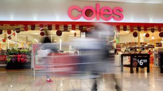 A Coles supermarket