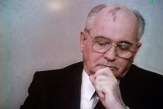 Mikhail Gorbachev resigning on television 25 December 1991