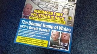 Hope Not Hate leaflet