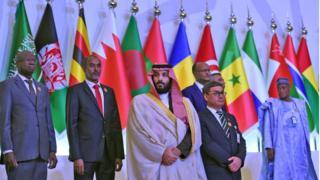 محمد بن سلمان ووزراء دفاع