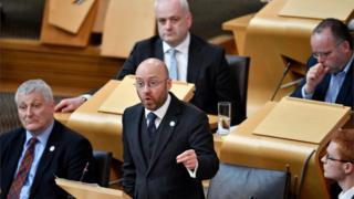 Patrick Harvie and Scottish Greens MSPs