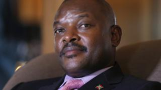 Prezida Pierre Nkurunziza