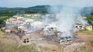 Sakarya'da yer alan havai fişek fabrikasındaki patlamada 4 kişi hayatını kaybetti