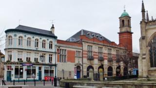 Trinity Market exterior