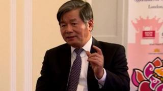 Ông Bùi Quang Vinh, nguyên bộ trưởng Bộ Kế hoạch & Đầu tư (2011-2016)