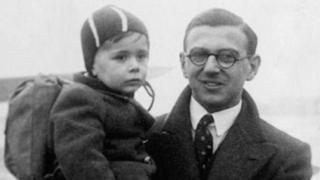 Sir Nicholas Winton in 1938
