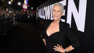 Jamie Lee Curtis at the Los Angeles premiere