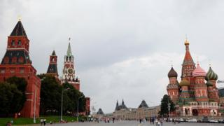 A general view of Red Square on August 6, 2013 in Moscow, Russia