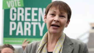 Green Party joint leader Caroline Lucas