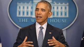 باراک اوباما، رئیس جمهوری آمریکا میگوید لایحه منع صادرات هواپیما به ایران را وتو میکند