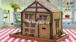 Candice's gingerbread pub
