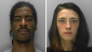 Alistair Walker and Hannah Henry