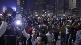 مظاهرات في مصر ضد السيسي