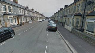 A view of George Street - which has lots of terraced houses on either side