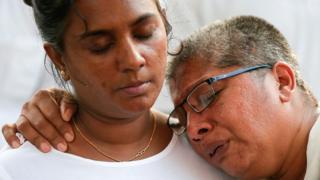 श्रीलंका धमाकों की पीड़ित
