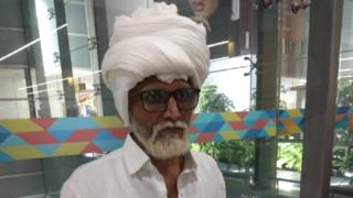 The man caught posing as an 81-year-old at an airport in New Delhi