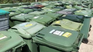 Confiscated bins