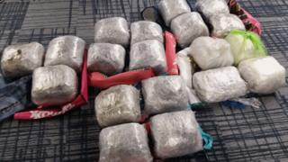 Cannabis with a street value of £380,000 seized in Lisburn