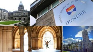 Universities of Edinburgh, Dundee, St Andrews and Glasgow