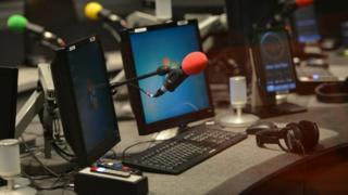 BBC radio microphones