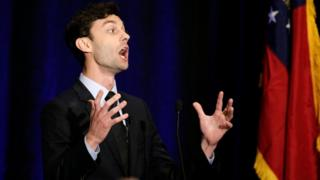 Jon Ossoff hailed his victory, but fell short of the upset win