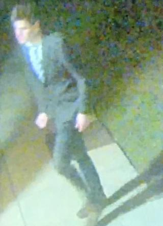 CCTV of Duncan Sim