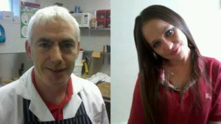 James McGrogan and Alexis Cook