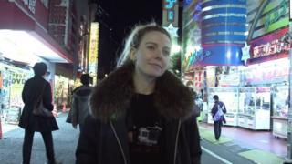 BBC製作人東京拍攝