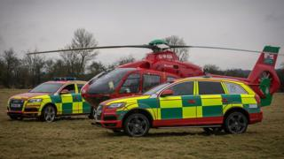 Wales Air Ambulance fleet