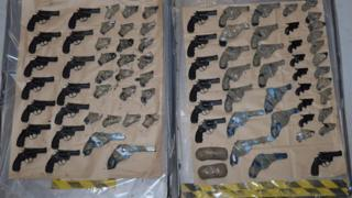 79 guns seizd by the NCA