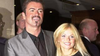 George Michael and Geri Horner