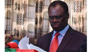 Michel Kafando estime que pour une sortie de crise, le gouvernement burundais doit accepter le dialogue inclusif.
