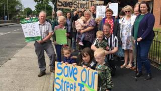 STTAG protestors